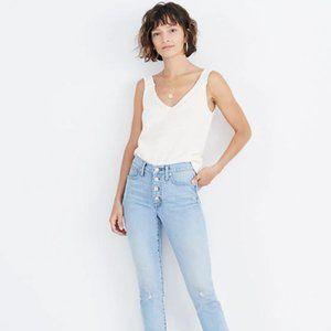 "Madewell 9"" Asbury Wash Jeans"